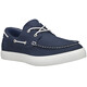 Timberland Newport Bay 2 Eye Boat Oxford Shoes Men Navy Canvas